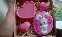 """Подарочный/сувенирный набор мыла для рук """"Любимой зае"""", фото 1"""