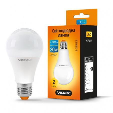 LED лампа VIDEX A70e 20W E27 4100K 220V