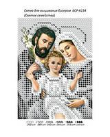 """Схема для вышивки бисером иконы """"Святе сімейство (Срібло)"""""""
