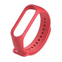 Ремешок для фитнес браслета Xiaomi Mi Band 3 красный