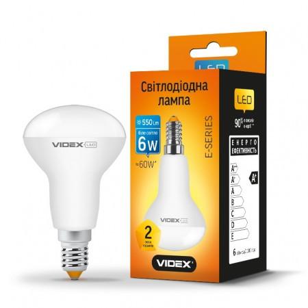 LED лампа VIDEX R50e 6W E14 3000K 220V