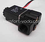 "Электромагнитный клапан, 1/4"", 24V, фото 3"