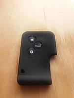 Чехол (черный, силиконовый) для смарт карты RENAULT (Рено) 3 кнопки