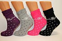 Женские зимние носки маржинал c отворотом, фото 1