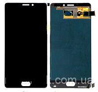 Дисплей (экран) для Meizu Pro 7 Plus + тачскрин, черный