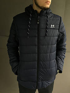 Мужская куртка Under Armour с отстегивающимися рукавами (трансформер)