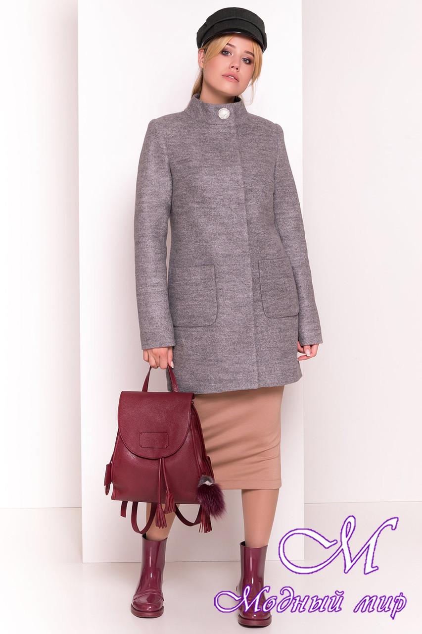 """Демисезонное кашемировое пальто (р. S, M, L) арт. """"Мелини 4378"""" - 21029"""