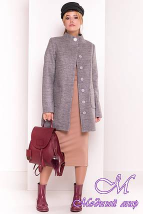"""Демисезонное кашемировое пальто (р. S, M, L) арт. """"Мелини 4378"""" - 21029, фото 2"""