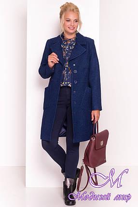 Демисезонное женское пальто батальных размеров (р. XL, XXL, XXXL) арт. Габриэлла Донна 4554 - 21945, фото 2