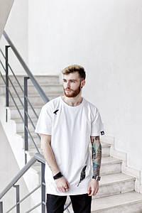 Мужская белая футболка ВН-71