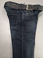 Мужские джинсы Guess D4389 темно-синие