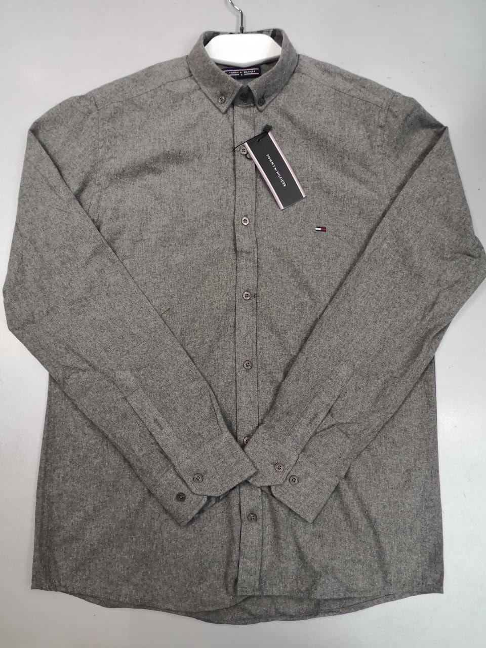 1b325ea9476c Рубашка мужская Tommy Hilfiger D4426 серая - купить по лучшей цене, от  компании из Харькова. ...