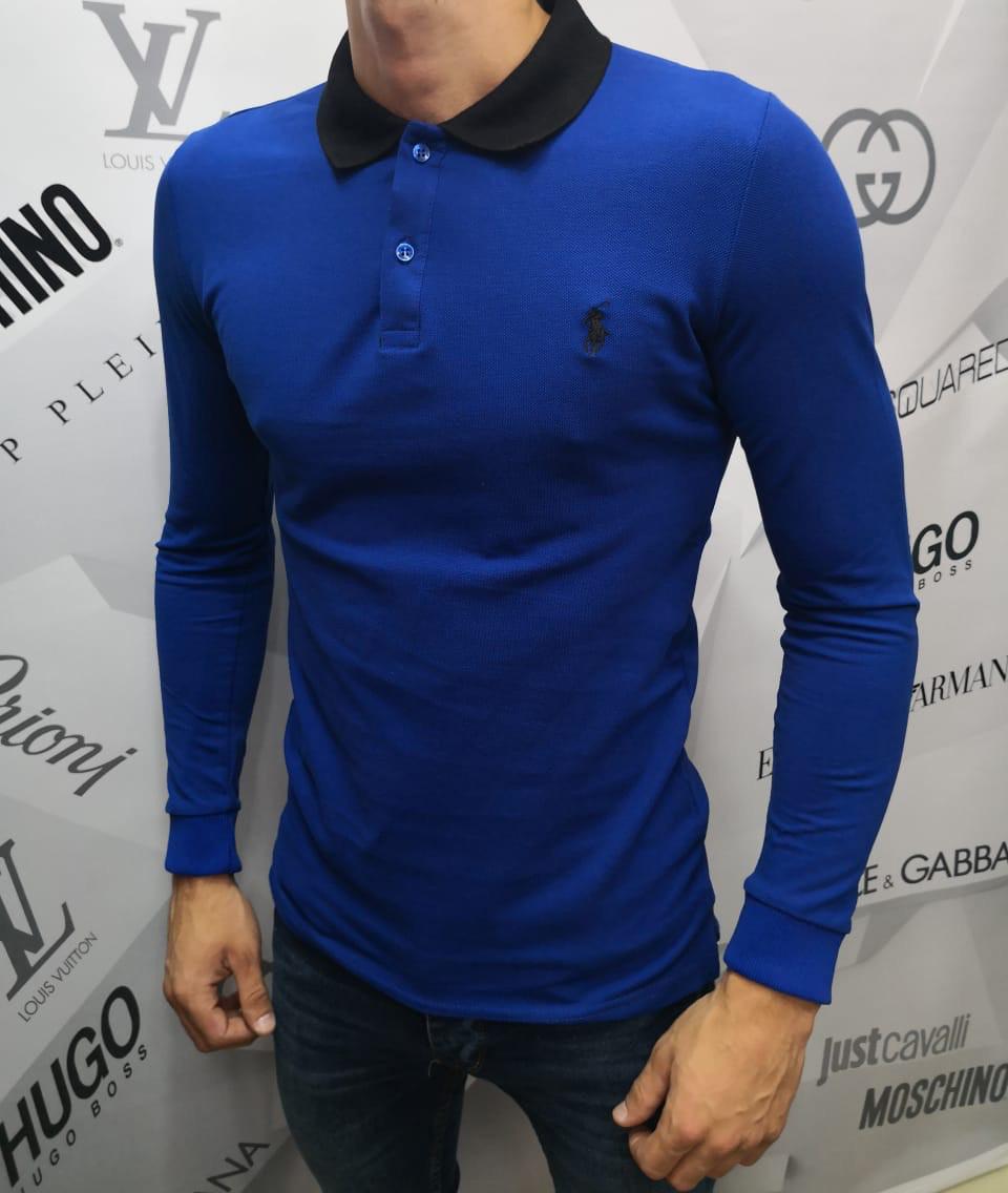 8b9c6af8942 Кофта мужская Polo by Ralph Lauren D4250 синяя - купить по лучшей ...