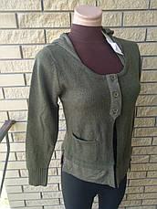 Кофта женская на пуговицах с капюшоном XIAN, фото 3