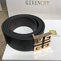 Пояс Givenchy Leather 4G Gold and Silver 18962 черный, фото 1
