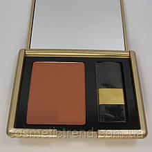 Румяна компактные с зеркалом для лица Ja-De (GA-DE) Soft Powder Blush 07 tender plum распродажа
