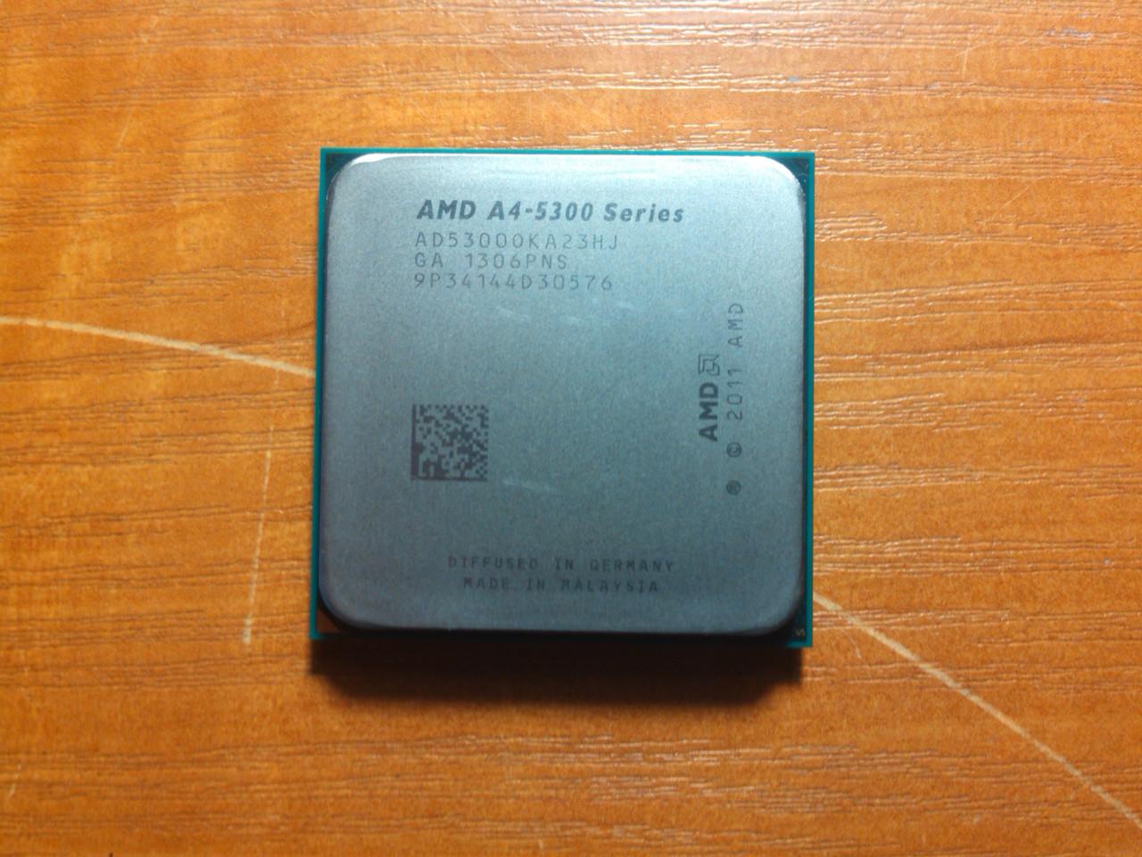 AMD A4-5300 AD5300OKA23HJ Гарантия!