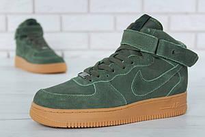 Мужские зимние кроссовки Nike Air Force Winter (Реплика)