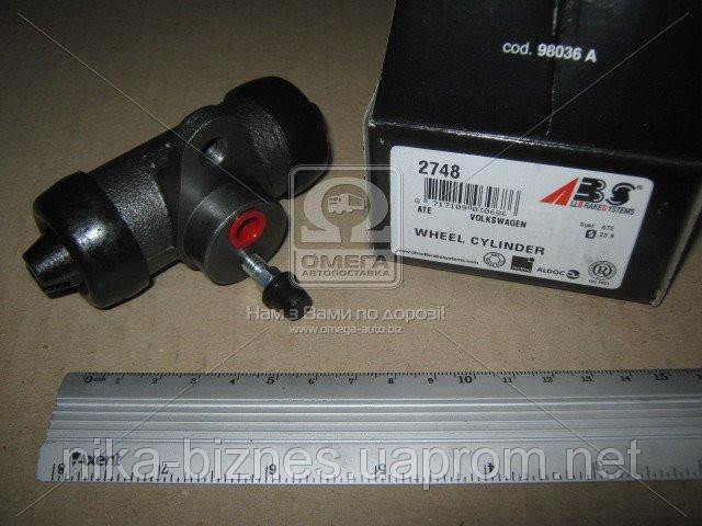 Цилиндр тормозной рабочий VOLKSWAGEN T4 задний (пр-во ABS)