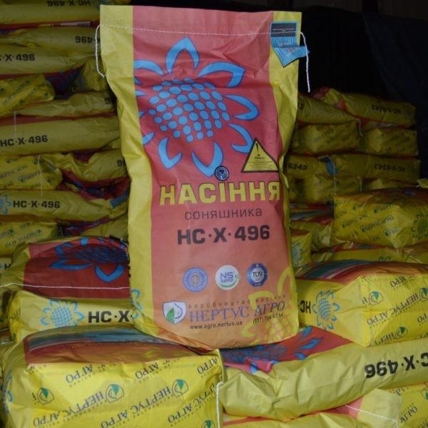 Купить Семена подсолнечника НС Х 496