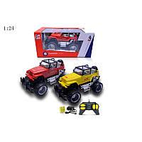 Джип детская игрушка на радиоуправлении, на аккумуляторах, в коробке
