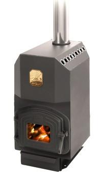 Отопительно-варочная печь Топ 300 с чугунной дверцей