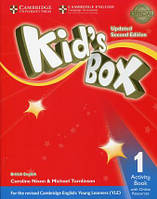 Kid's Box Updated 2nd Edition Level 1 Activity Book with Online Resources British English