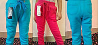 Детский спортивный штанишки с начесом