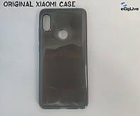 Оригинал Силиконовый чехол для Xiaomi Redmi Note 5 Чёрный
