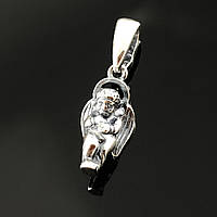 Женский серебряный кулон подвес Ангелок