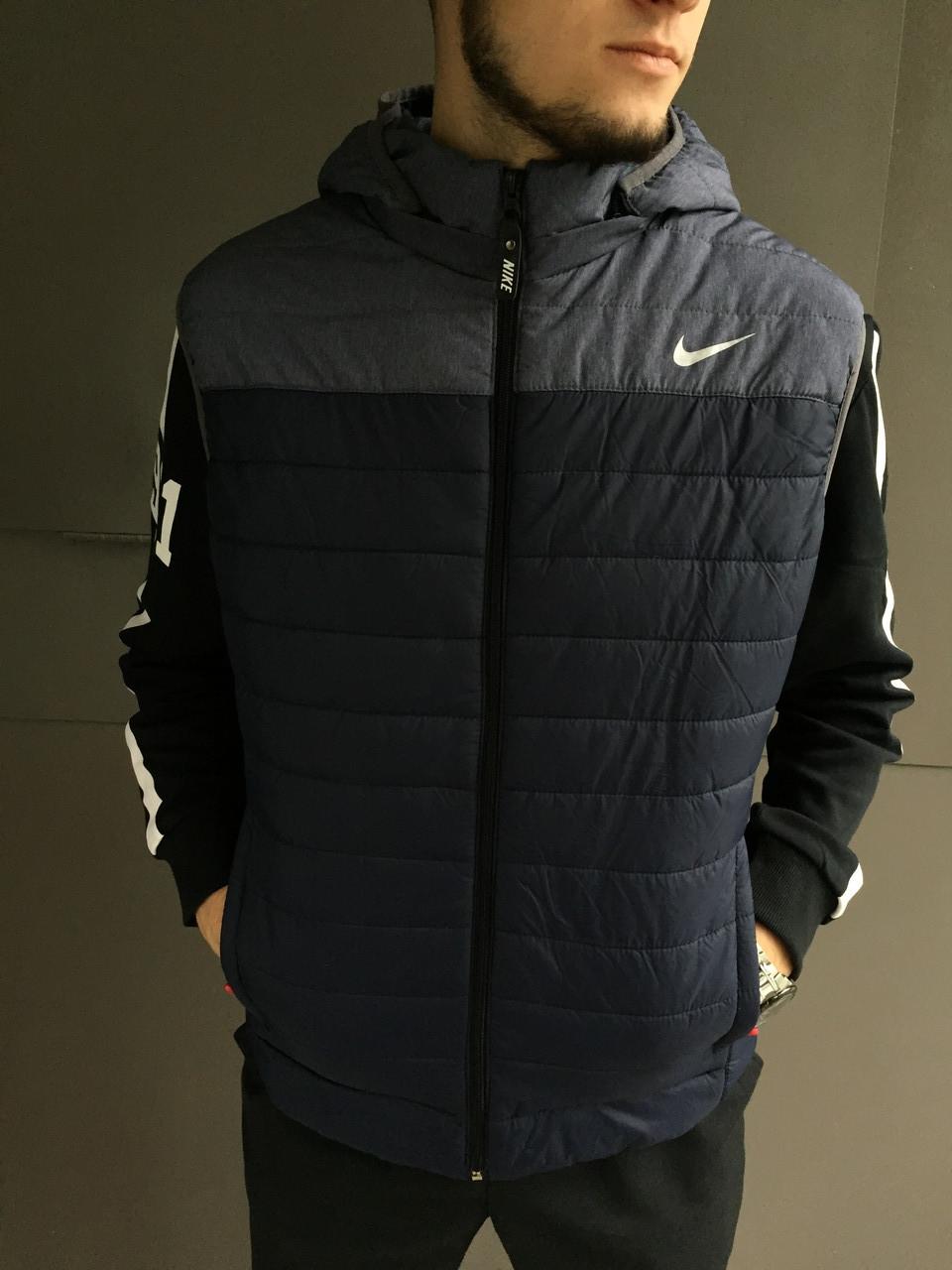 Жилет мужской Nike. Плащевка