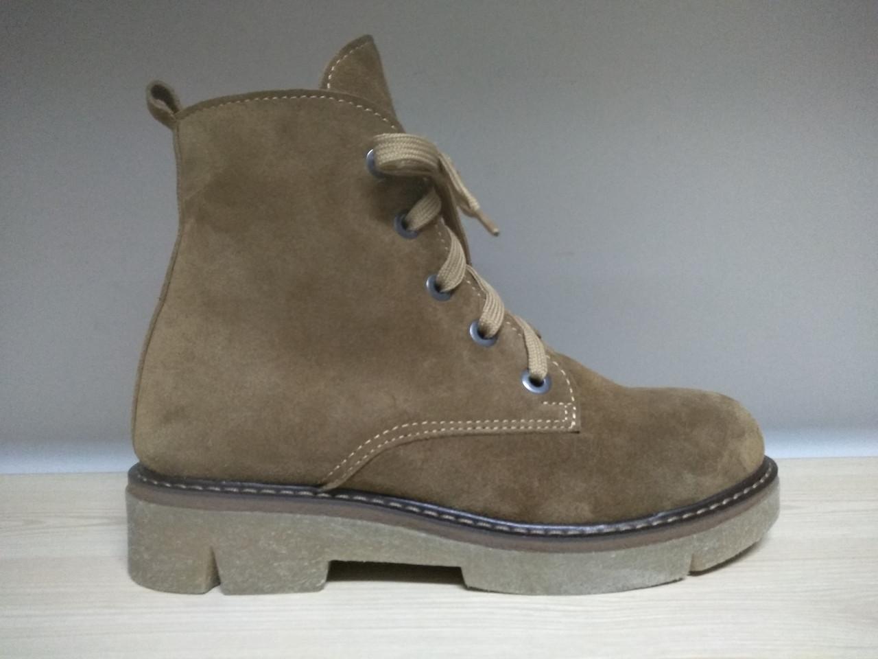 1db4f0dcb Женские замшевые ботинки в стиле Timberland (Зима) - Магазин женской и  мужской обуви ЧЕРЕВИЧКИ