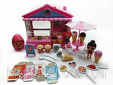 Игровой набор Лол магазин мороженного / Lol кафе / Lol dessert house / аналог, фото 3