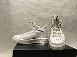 Кросівки Nike Air Force 1 Ultraforce Mid Оригінал 864025-100, фото 3