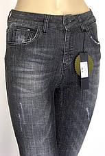 Жіночі завужені сірі джинси  Speedway, фото 3