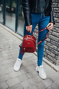 Рюкзак David Jones Браун красный