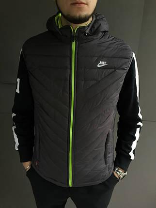 Жилет мужской Nike. Плащевка, фото 2
