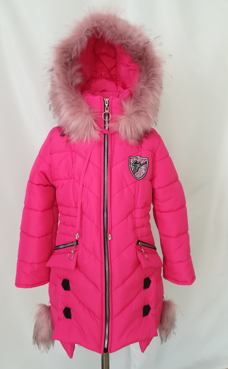 b97fdb96 Куртки зимние для девочек интернет магазин 34-44 малиновый - Детская и подростковая  одежда Uventum
