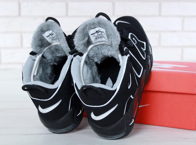 Nike Air More Uptempo 96 Winter Black White