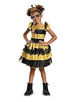 Детский карнавальный костюм Кукла LOL Королева Пчелка DELUXE США