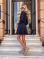Женская платье с открытыми плечами Моника в расцветках, фото 1