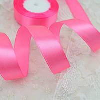 Лента атласная 3104 розовая 50 мм