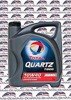 Моторное масло TOTAL QUARTZ 7000 DIESEL 10W40 5L
