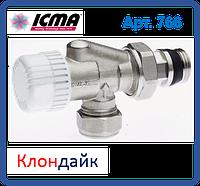 Icma 2-х угловой термостатический вентиль