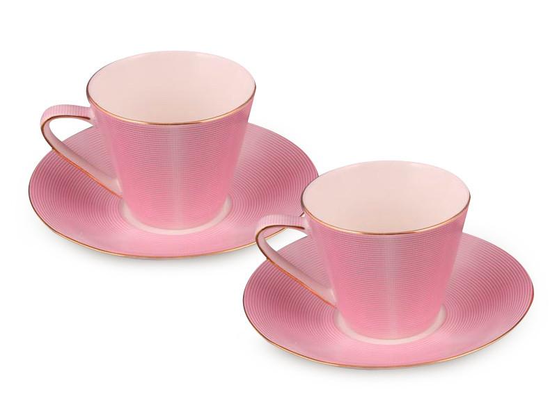 Набор чайный Lefard Модерн розовый 200 мл 4 предмета, 84-728