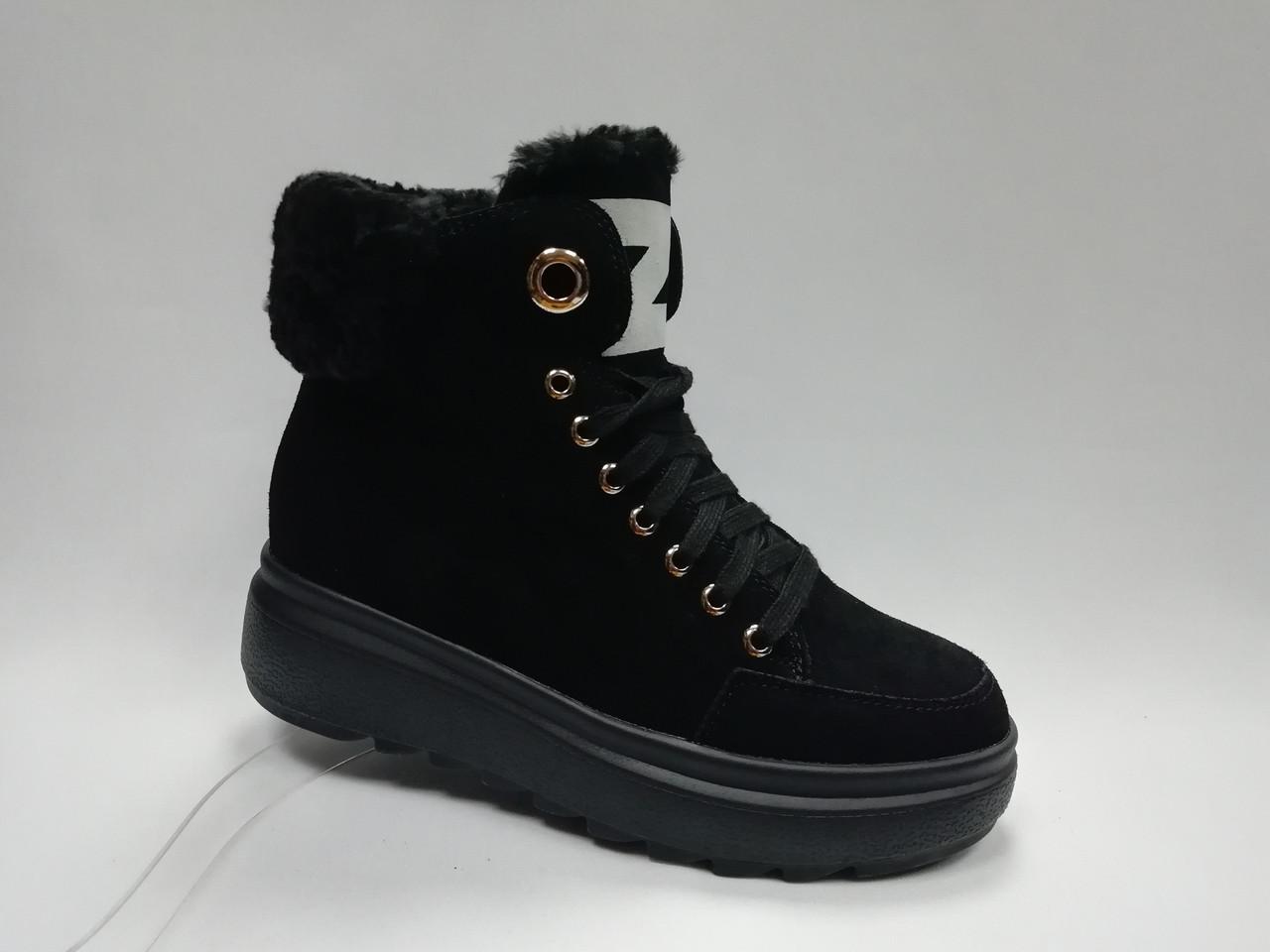 Зимние ботиночки на молнии.