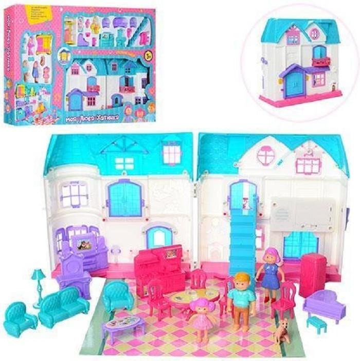 Кукольный домик 1205AB