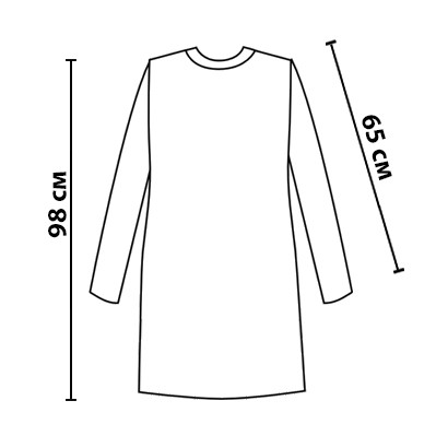 Размерная сетка на платье Корица от МальваОпт