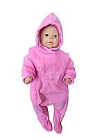 Комбинезон теплый для новорожденных (флисовый), фото 1