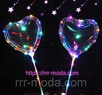 53. Led шары в виде сердец, светящиеся светодиодные шарики оптом